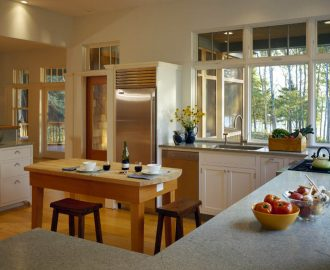 Honed Costa Smeralda countertops