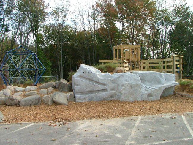 Freshwater Pearl granite climbing walls