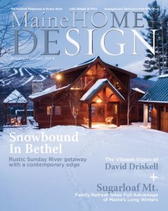Maine Home + Design, Jan/Feb 2008