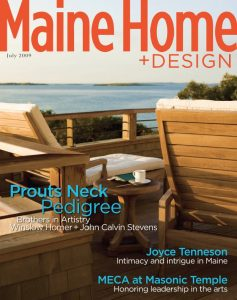 Maine Home + Design, July 2009