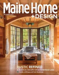 Maine Home & Design, October 2017