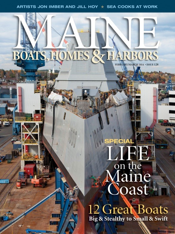 Maine Boats Homes & Harbors, Feb/Mar '14