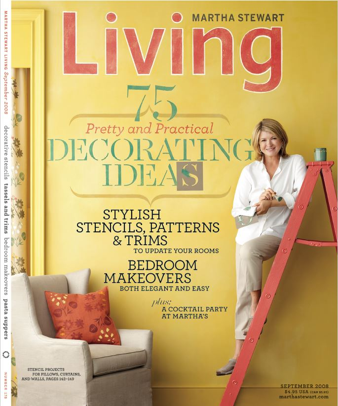 Martha Stewart Living, Sept. 2008