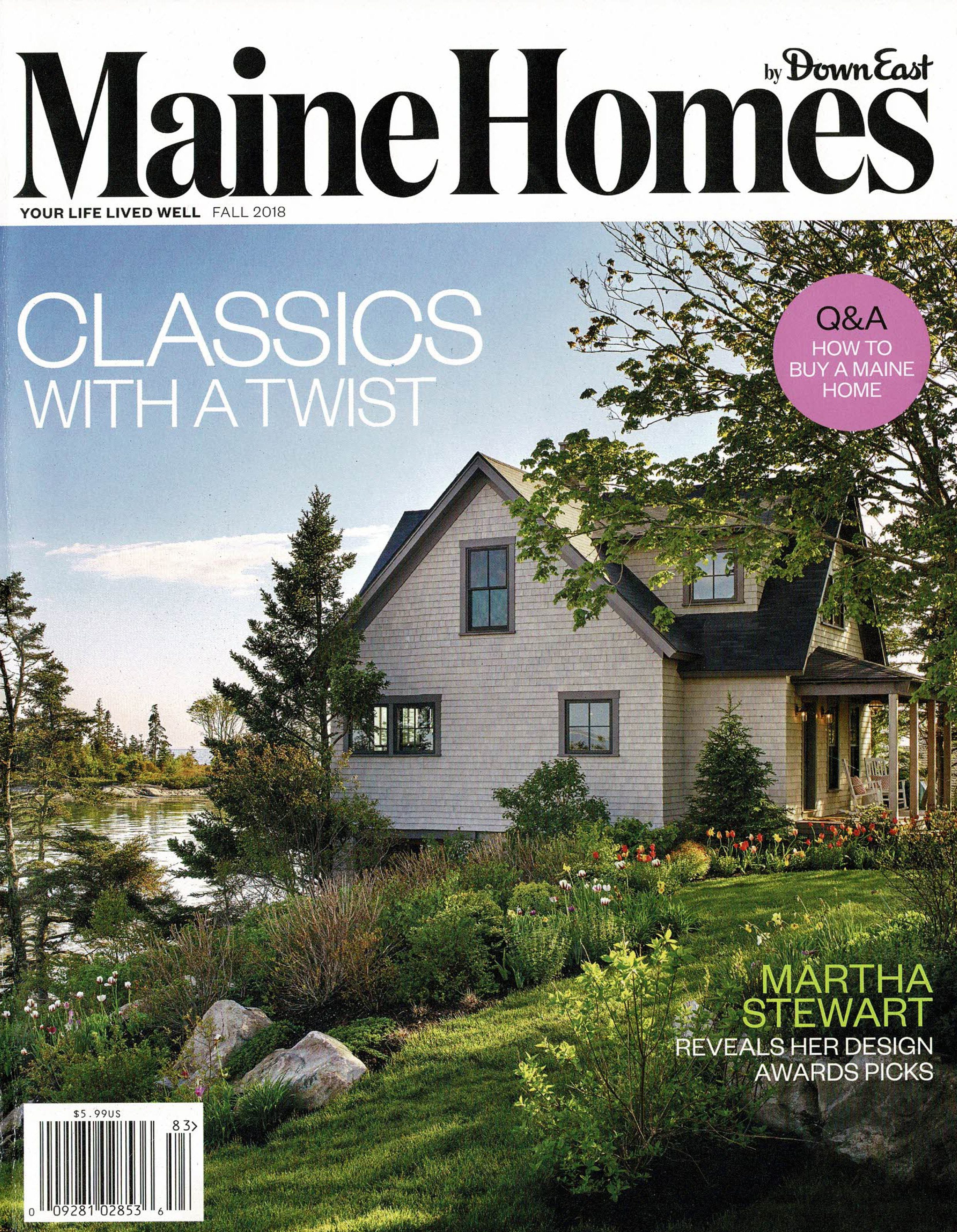 Maine Homes by Down East, Fall 2018