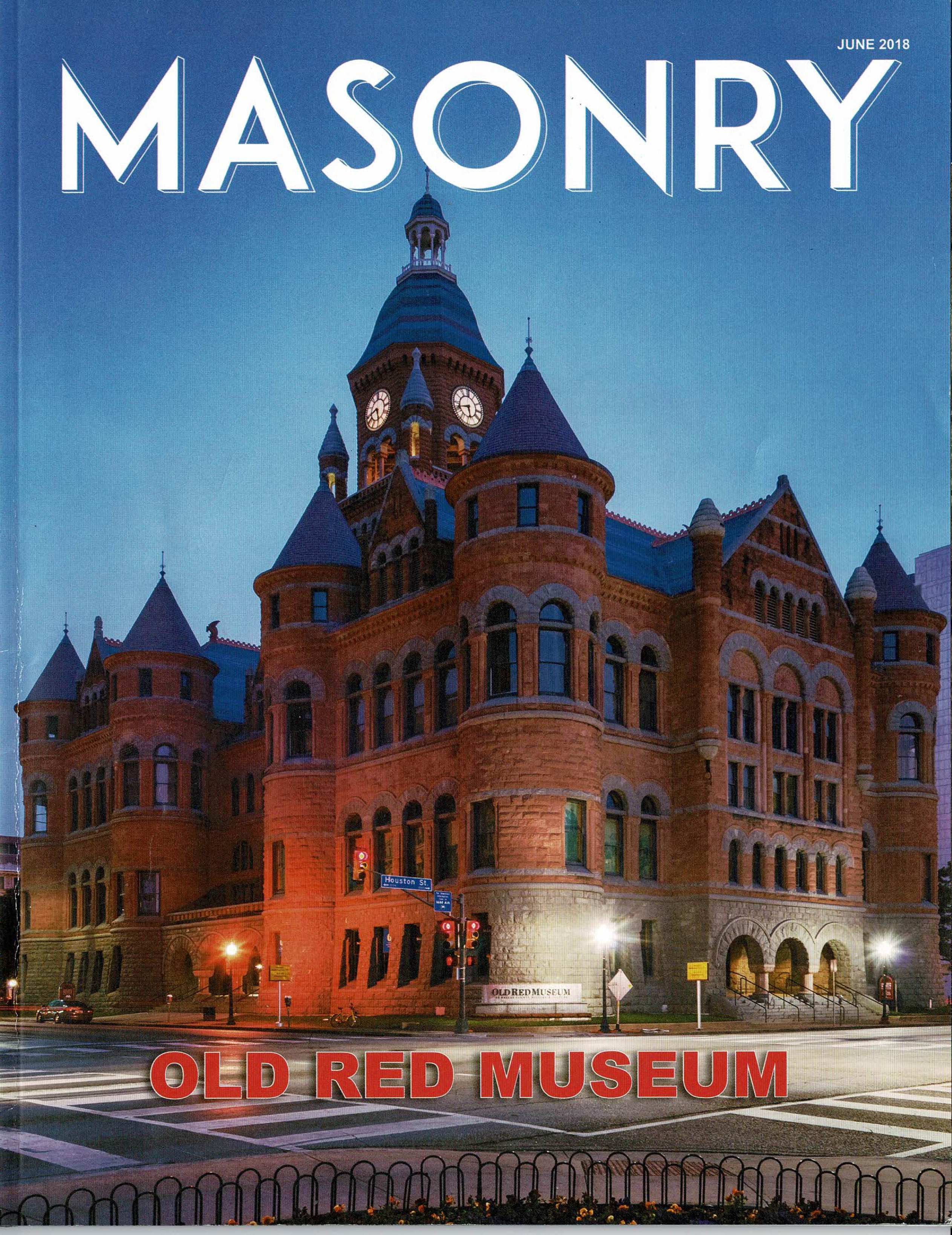 Masonry Magazine, June 2018